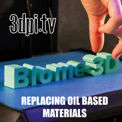 Oil Based Materials 3d printing