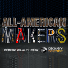 "Brook Drumm's ""All-American Makers"" Premiers Tonight on Science Channel"