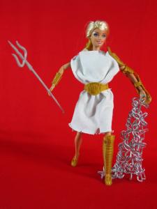 barbie_gladiator 3d printed barbie accessories