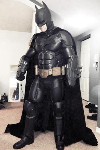 3d Printed Arkham Origins Batman Skin 3d Printing Industry