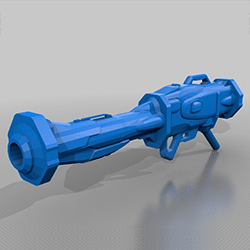 destiny rocketlauncher cad feature image