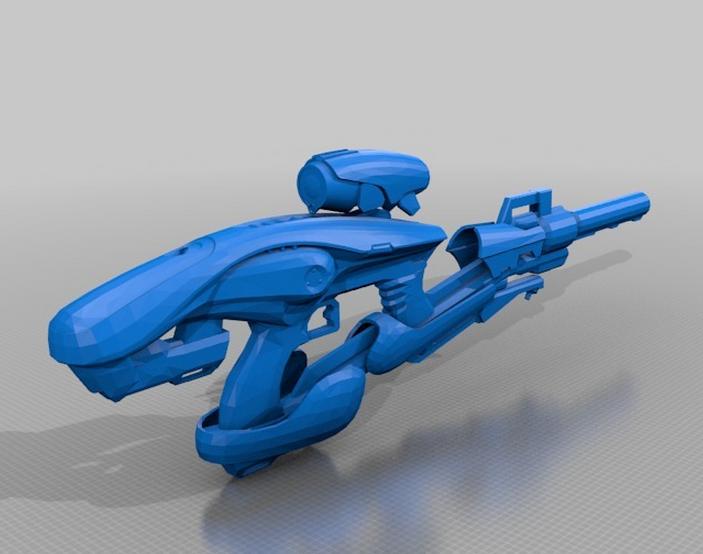 destiny_fusion_rifle 3dpi