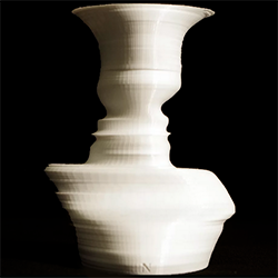 fahz Symbol Vase 3d printed feature