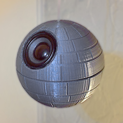 feat nomoon_hanging 3d printed star wars speaker
