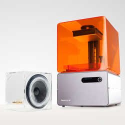 formlabs 3d printer speaker CES