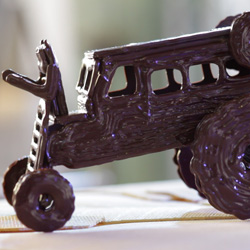 hans fouche 3D chocolate printing 8 arm choctopus