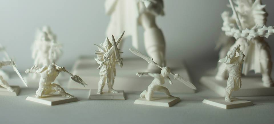 heroforge_3d printed tabletop prints
