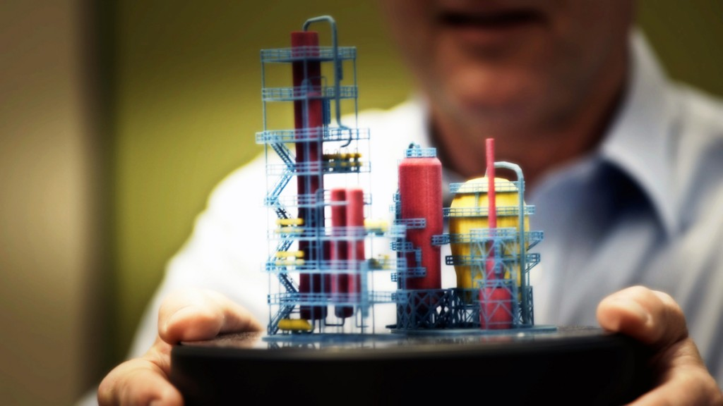 hp multi jet fusion 3D print