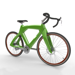 innervision 3D printed bicycle concept