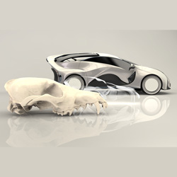jenifer wolf 3d printed concept car