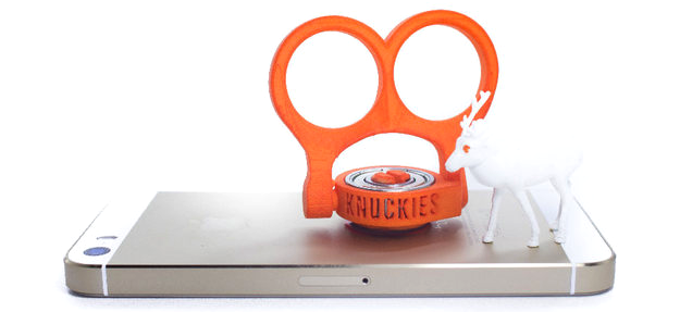 3d printed phone stand knuckies_flat