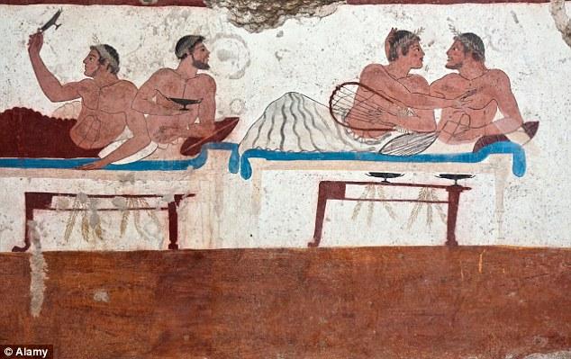 kottabos painting