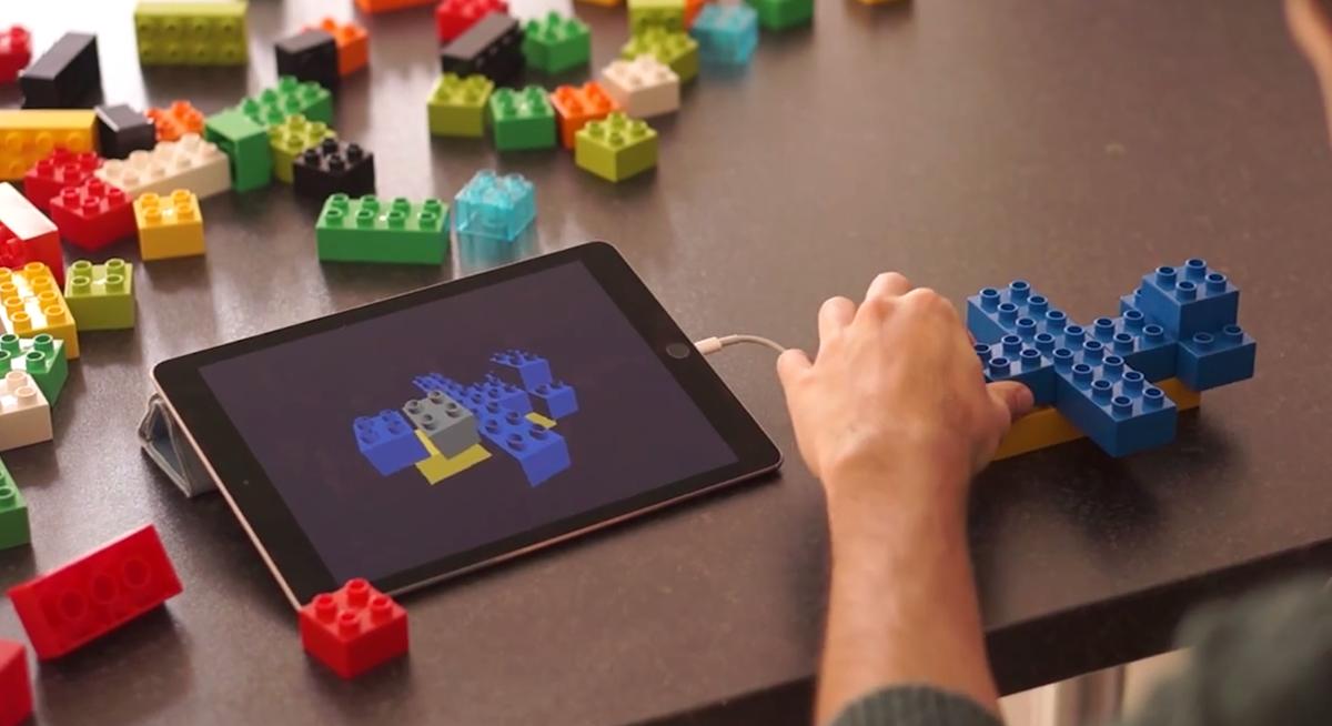 Legos sensors easy 3d modeling 3d printing industry 3d modeling app