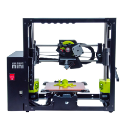 lulzbot mini 3D printer at CES 2015