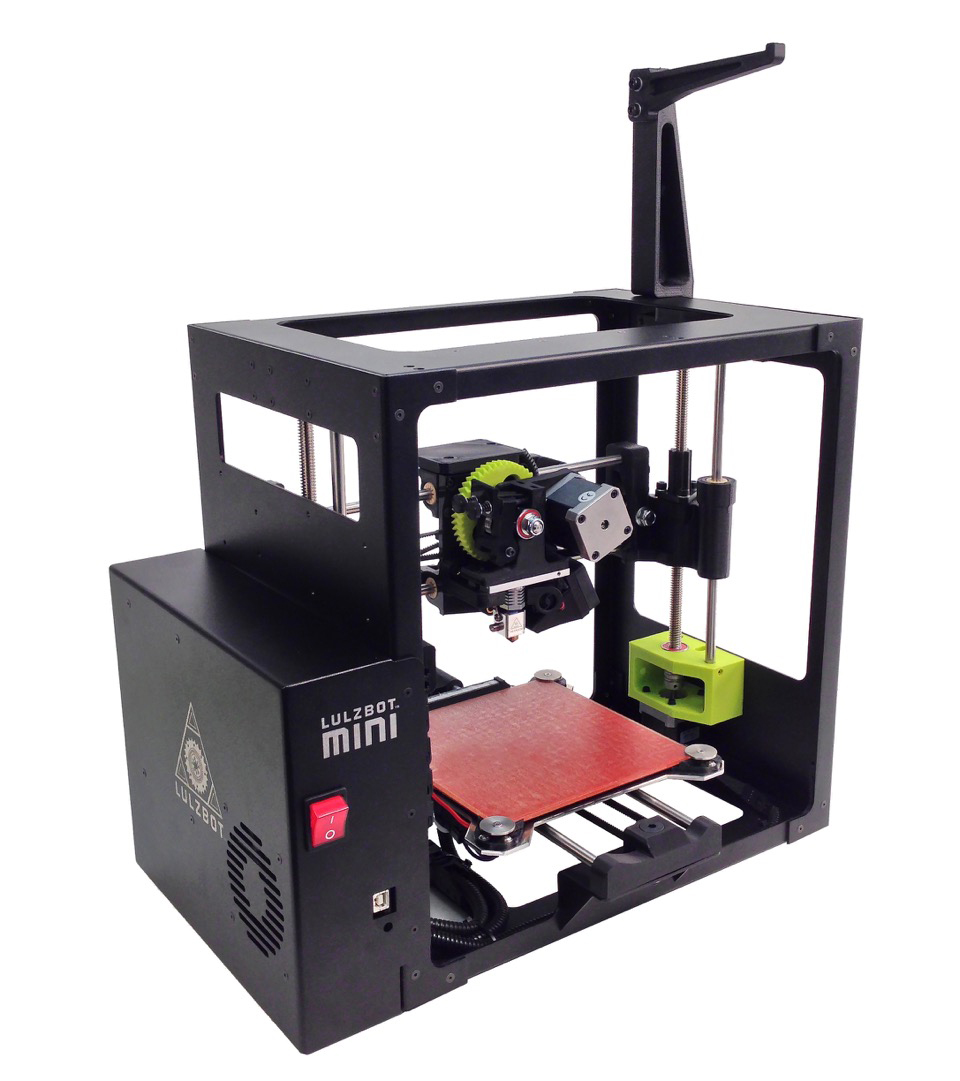 lulzbot mini 3D printer at ces