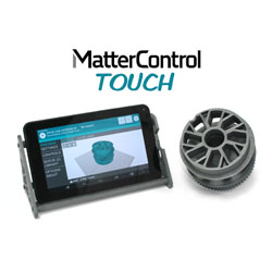 mattercontrol touch for tetherless 3D printing
