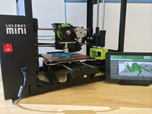 mattercontrol touch with 3D printer
