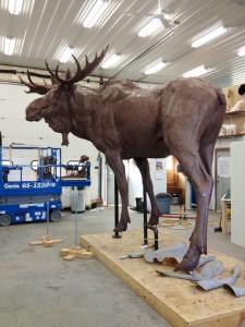 moose_sculpted 3d printing method