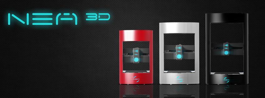 nea 3D inc family of nea 3d printers