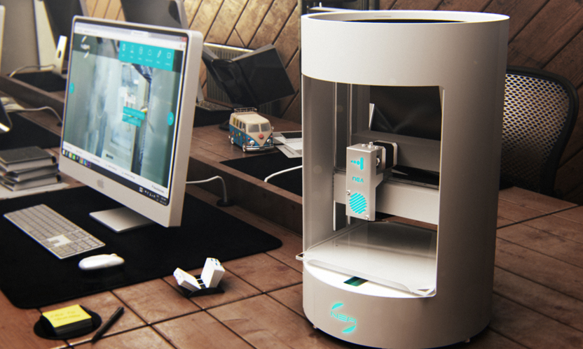 Nea family of 3d printers at ces 3d printing industry