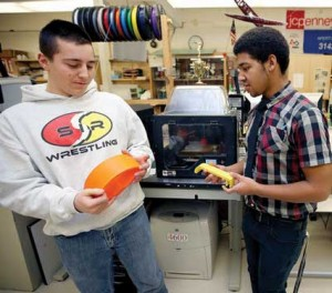 newton high school 3d printing