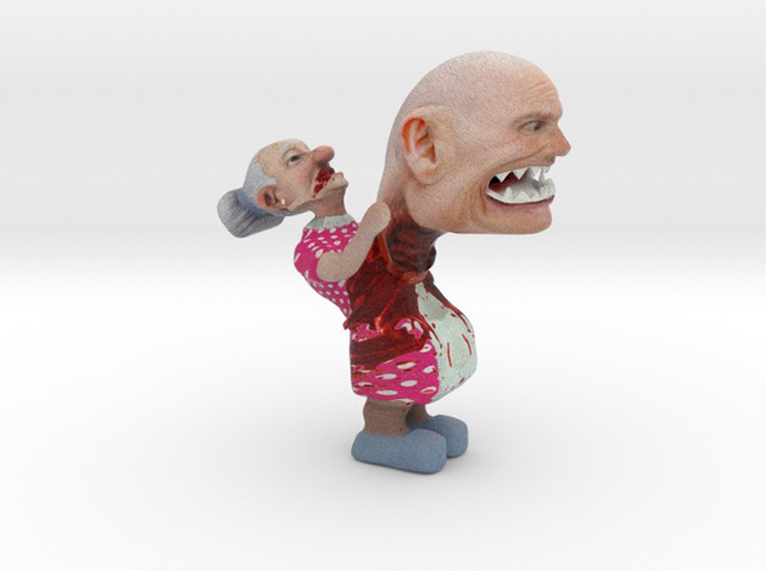 rick scott 3D printed chest buster