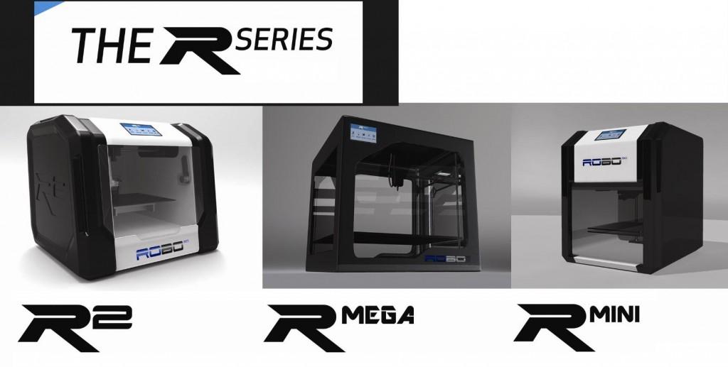 robo3D r2 rmega rmini 3D printers