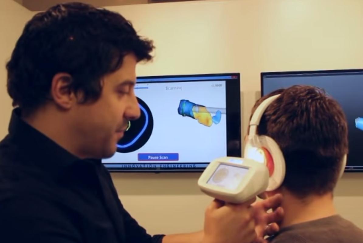 3d scanning ear