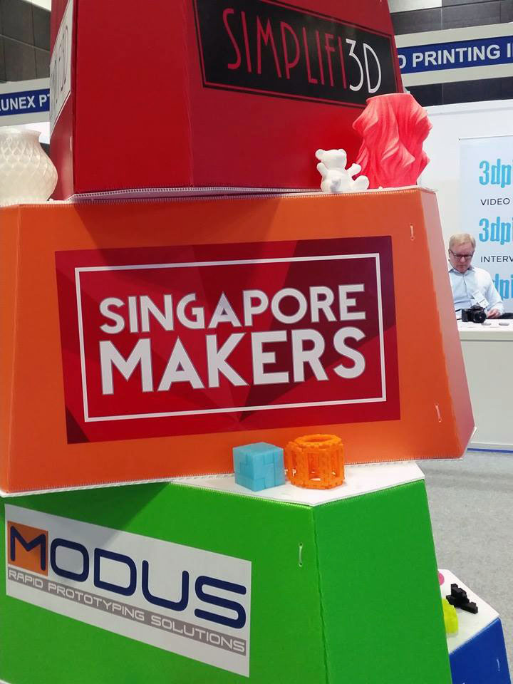 D Printing Exhibition In Singapore : Hp demining and the makers of singapore inside d