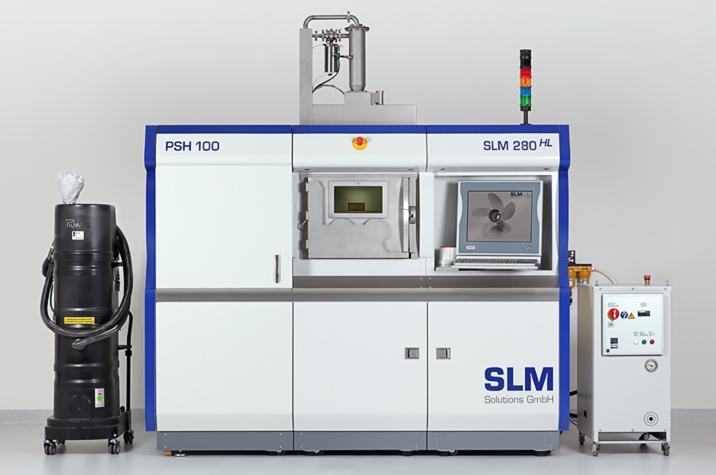 slm solutions slm 280 metal 3D printer