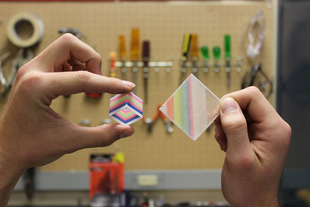 spectrom 3D full color 3D printing sample