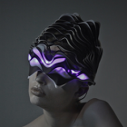 3D Printed Helmet Responds to Brainwaves