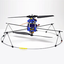 Penn Student Develops 3D Printable UAV with Only 2 Motors