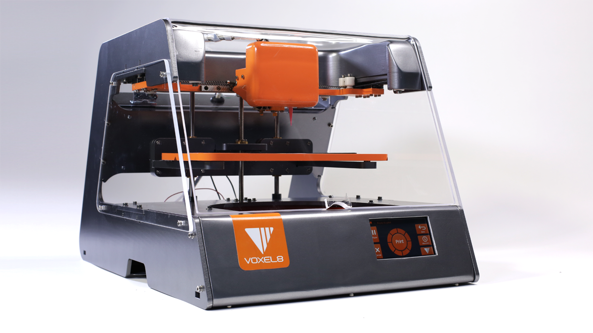 Voxel8 1st Electronics 3d Printer Printing Industry This Pen Kit Comes With An Actual Printed Computer Circuit Board Voxel 8