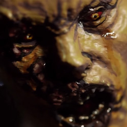 dying light 3d printed zombie statue