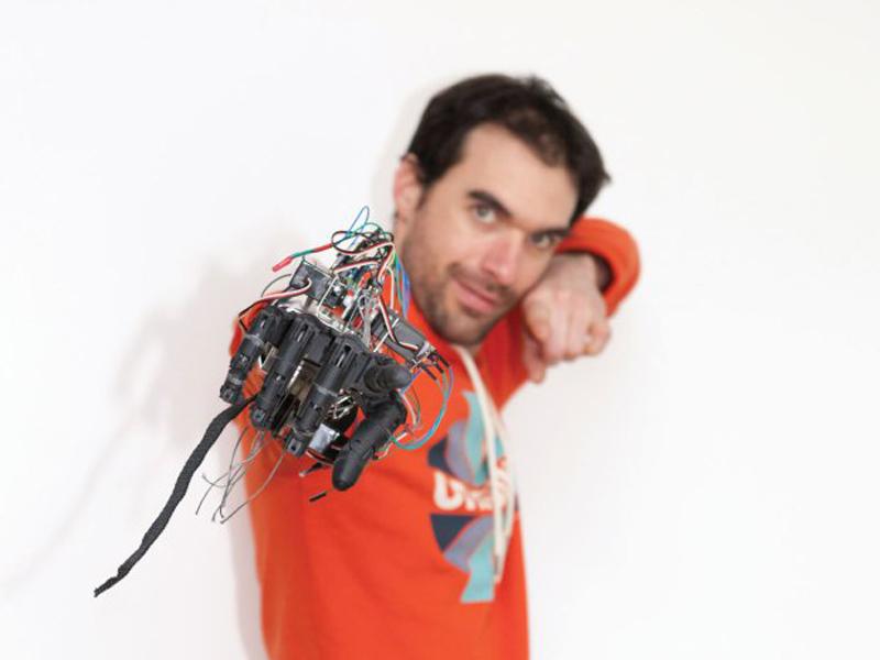 3D printed hand robotics