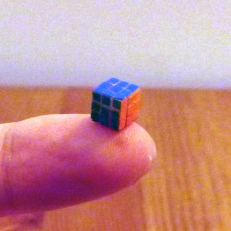 Evgeniey Grigoriev One Cube 5.7mm 3D printed