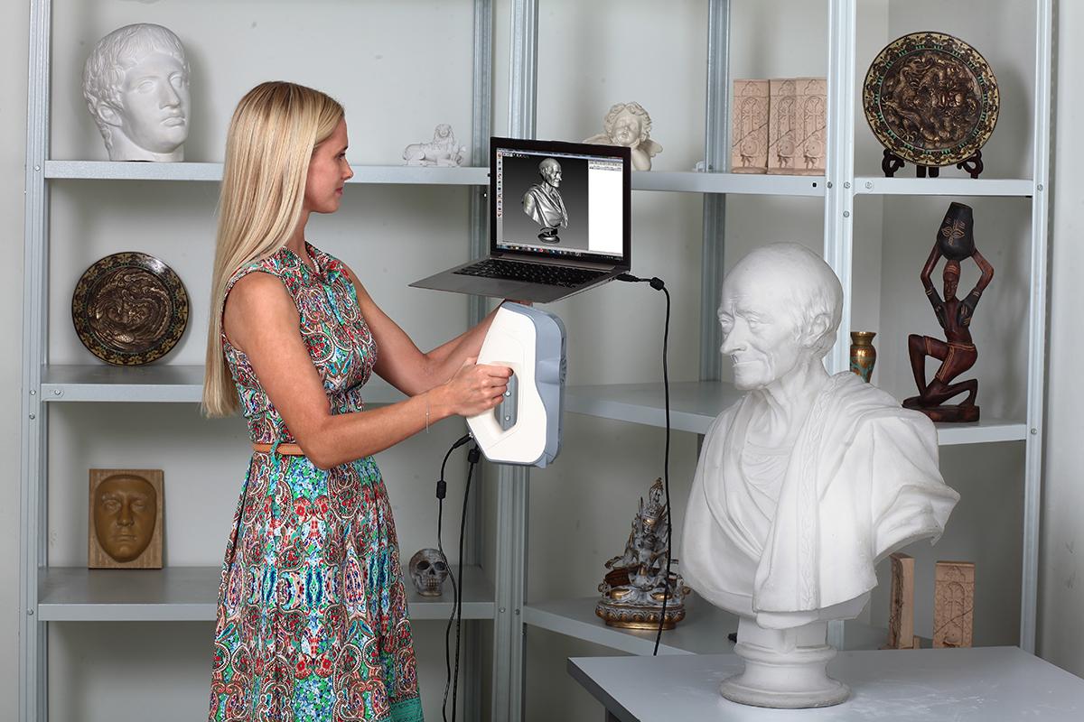 artec scanner 3d printing