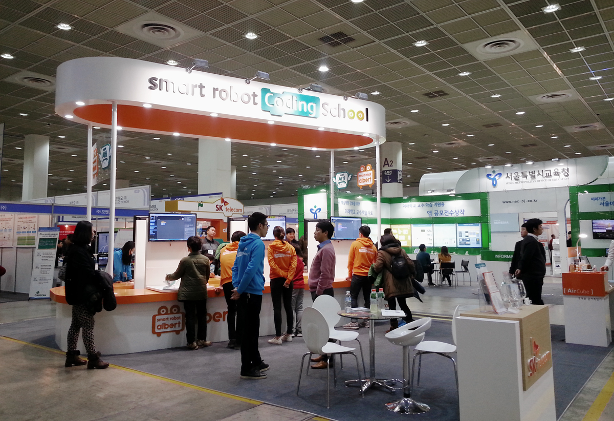 D Printing Exhibition Billingsgate : D printing teaches korean educators at the koreaedu expo