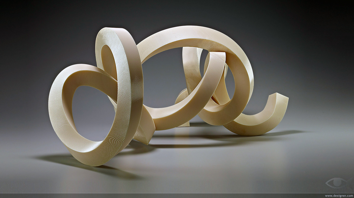 coriolois 3d printed sculpture from bruce beasley