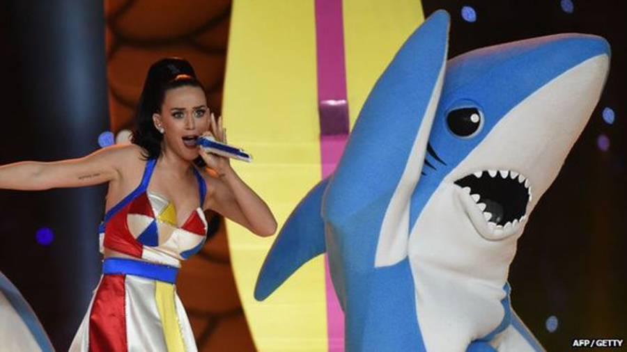 katy perry 3D printed shark gets legal trouble