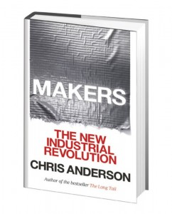 makers industrial revolution chris anderson 3D printing