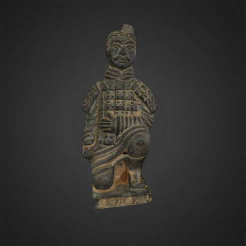 3D printable terracotta soldiers
