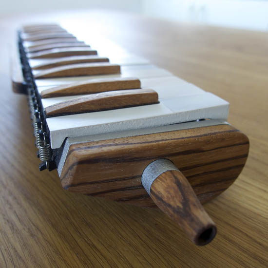 3D printed melodica