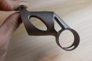3D printed titanium bike part