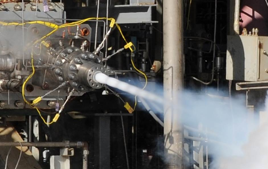 AR1 aerojet rocketdyne tests 3D printed engine component
