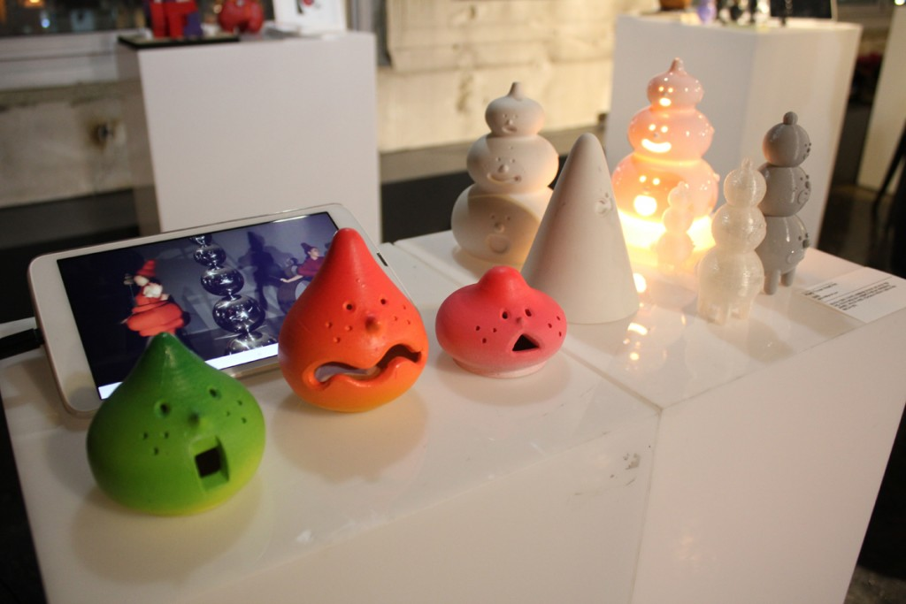 Creation Factory in Korea 3D printing design objects