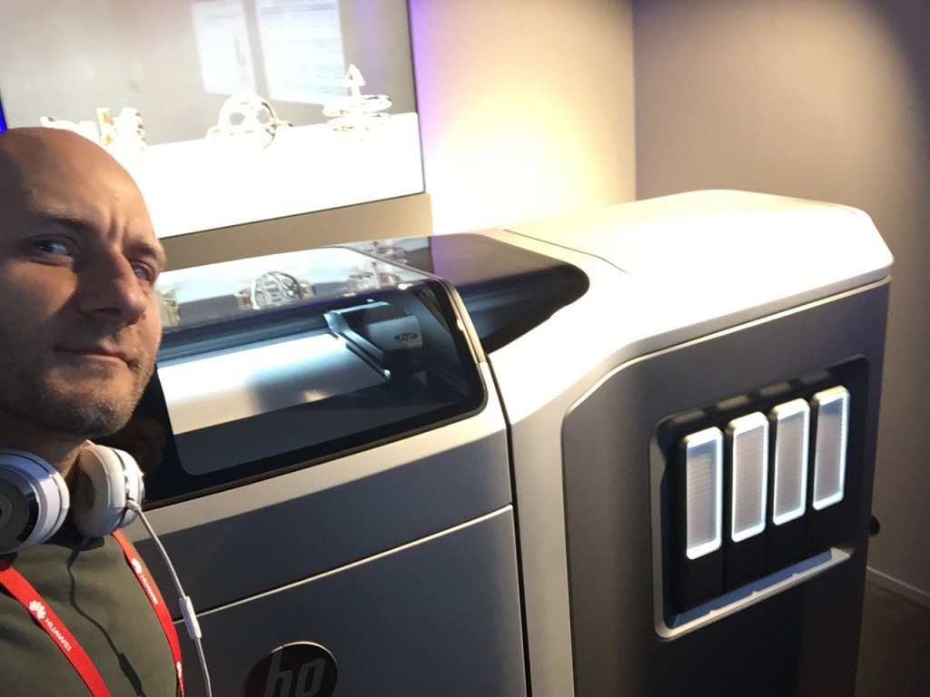 HP's global 3D printing division is based in Barcelona