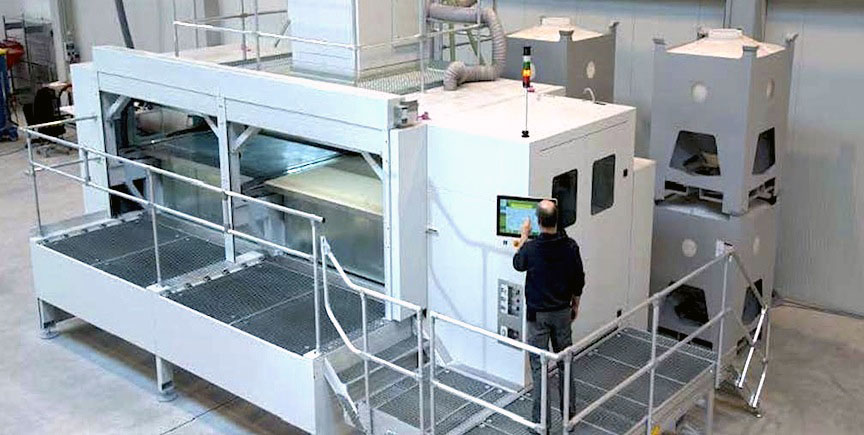 ExOne's Exerial industrial 3D printing Machine