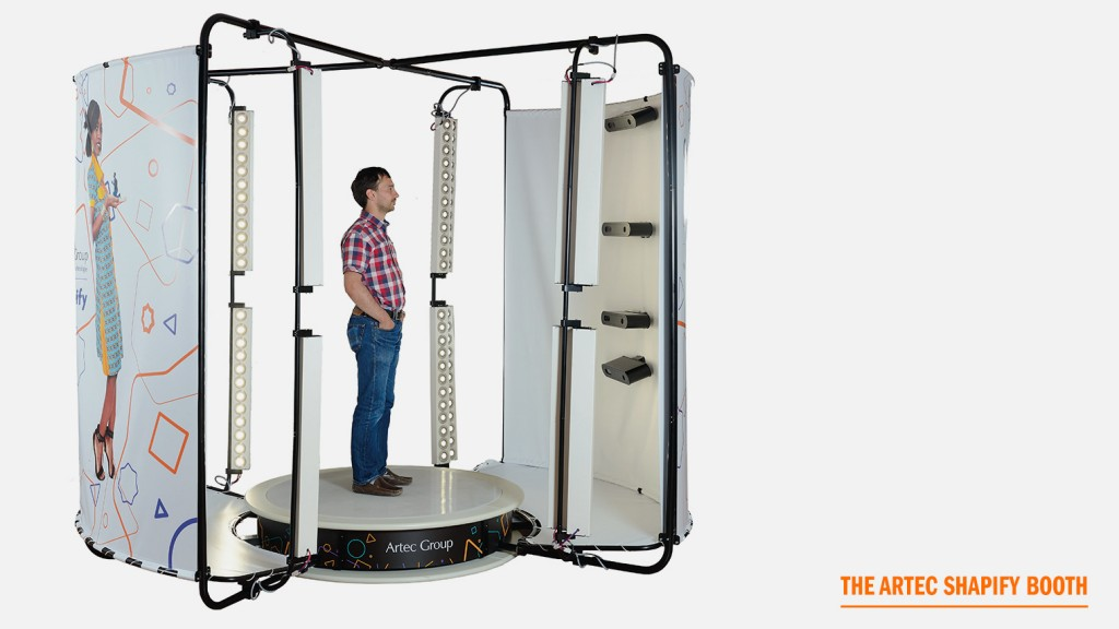 artec shapify 3D scanning booth